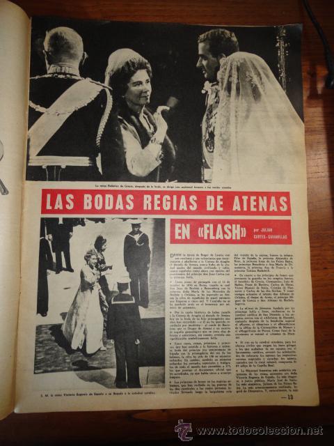 Coleccionismo de Revista Destino: REVISTA DESTINO NUM.1293, MAYO DE 1962 BODA REAL, PARTIDO CONSERVADOR, ANTE EL TELON DE BAMBU.... - Foto 5 - 45503105