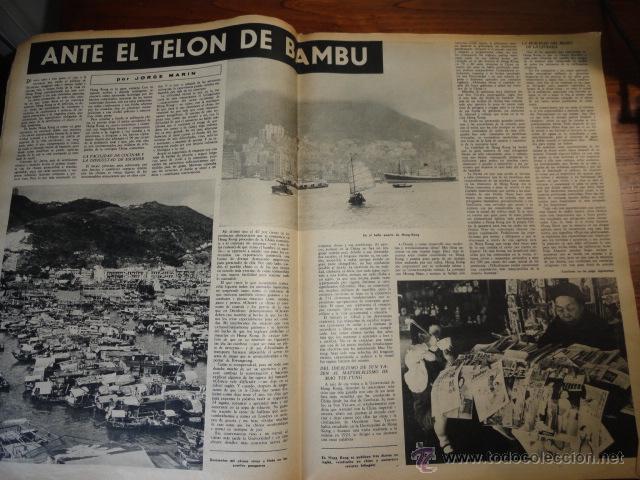 Coleccionismo de Revista Destino: REVISTA DESTINO NUM.1293, MAYO DE 1962 BODA REAL, PARTIDO CONSERVADOR, ANTE EL TELON DE BAMBU.... - Foto 6 - 45503105