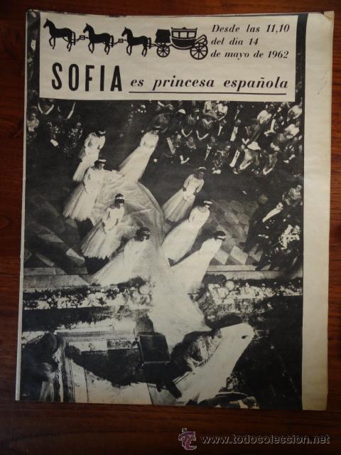 REVISTA FOLLETO SOFIA ES PRINCESA ESPAÑOLA MAYO 1962 (Coleccionismo - Revistas y Periódicos Modernos (a partir de 1.940) - Revista Destino)