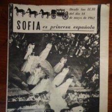 Coleccionismo de Revista Destino: REVISTA FOLLETO SOFIA ES PRINCESA ESPAÑOLA MAYO 1962. Lote 45503334