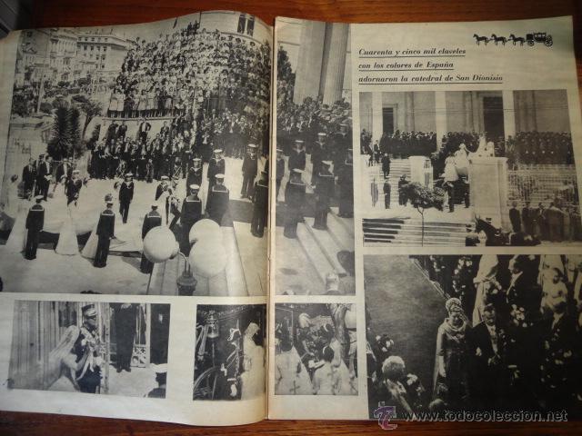 Coleccionismo de Revista Destino: REVISTA FOLLETO SOFIA ES PRINCESA ESPAÑOLA MAYO 1962 - Foto 3 - 45503334