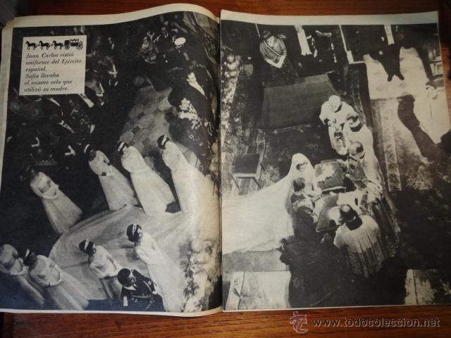 Coleccionismo de Revista Destino: REVISTA FOLLETO SOFIA ES PRINCESA ESPAÑOLA MAYO 1962 - Foto 4 - 45503334