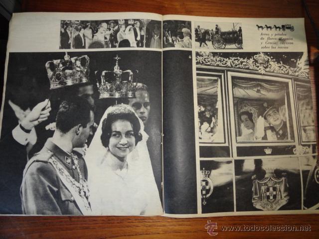 Coleccionismo de Revista Destino: REVISTA FOLLETO SOFIA ES PRINCESA ESPAÑOLA MAYO 1962 - Foto 5 - 45503334