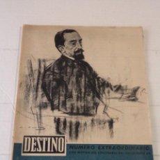 Coleccionismo de Revista Destino: DESTINO Nº 1179 – Nº EXTRAORDINARIO CON MOTIVO DEL CENTENARIO DEL NACIMIENTO DE JUAN MARAGALL. Lote 45641555