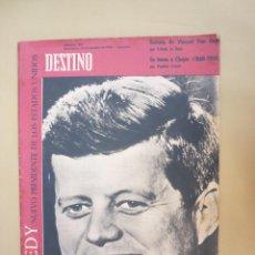 Coleccionismo de Revista Destino: 53 REVISTA DESTINO - NUMEROS 1169 AL 1221 - AÑO 1960 - COMPLETO.. Lote 45662458
