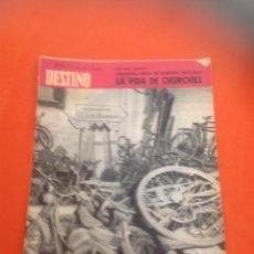 Coleccionismo de Revista Destino: . REVISTA DESTINO Nº1433 23 ENERO 1965. Lote 45741158
