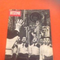 Coleccionismo de Revista Destino: . REVISTA DESTINO Nº1445 17 ABRIL 1965. Lote 45741220