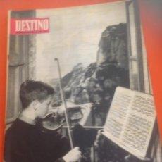 Coleccionismo de Revista Destino: . REVISTA DESTINO Nº1446 24 ABRIL 1965. Lote 45741238
