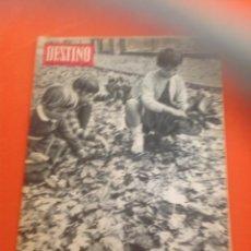 Coleccionismo de Revista Destino: . REVISTA DESTINO Nº1472 23 OCTUBRE 1965. Lote 45741281