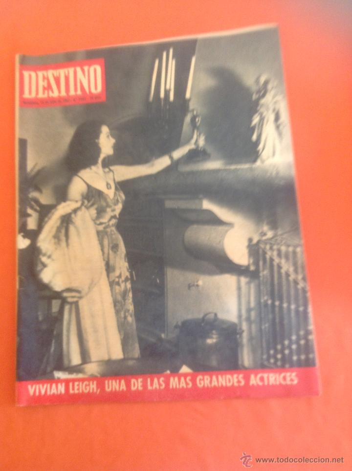 . REVISTA DESTINO Nº1562 JULIO 1967 (Coleccionismo - Revistas y Periódicos Modernos (a partir de 1.940) - Revista Destino)