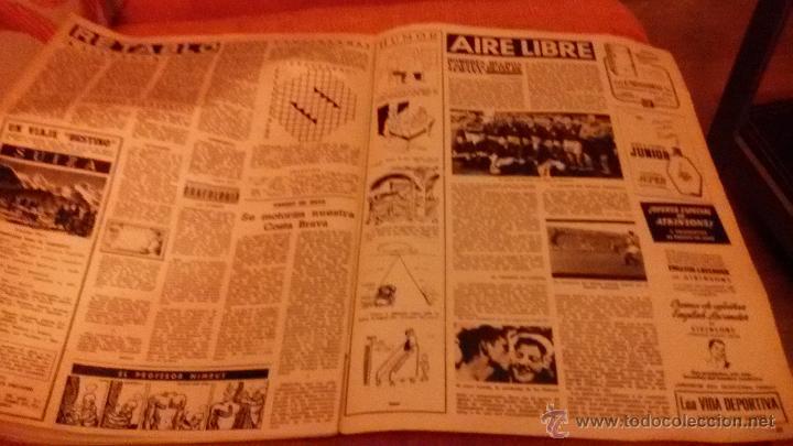 Coleccionismo de Revista Destino: PERIODICO DESTINO - 18 DE JULIO 1953 - FRANCO - BARCELONA - Foto 2 - 47375031