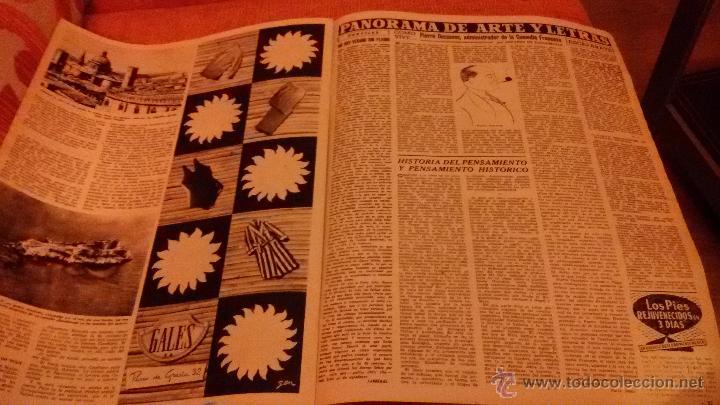 Coleccionismo de Revista Destino: PERIODICO DESTINO - 18 DE JULIO 1953 - FRANCO - BARCELONA - Foto 4 - 47375031