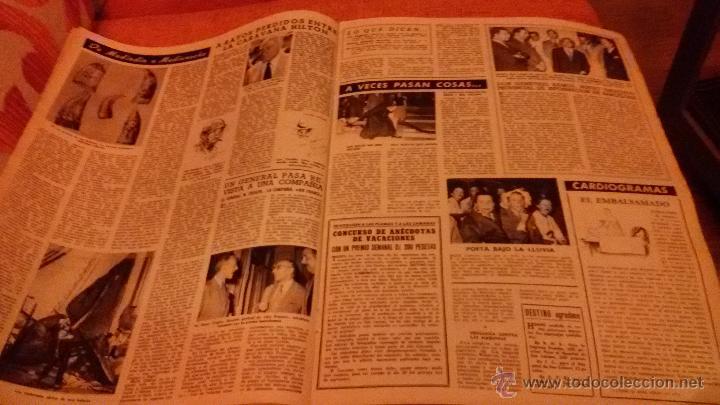 Coleccionismo de Revista Destino: PERIODICO DESTINO - 18 DE JULIO 1953 - FRANCO - BARCELONA - Foto 6 - 47375031