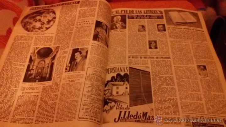 Coleccionismo de Revista Destino: PERIODICO DESTINO - 10 DE JULIO 1954 - BARCELONA -KUBALA FUTBOL FUTBOLISTA - Foto 2 - 47375055