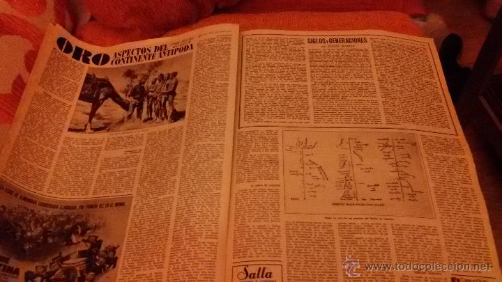 Coleccionismo de Revista Destino: PERIODICO DESTINO - 10 DE JULIO 1954 - BARCELONA -KUBALA FUTBOL FUTBOLISTA - Foto 4 - 47375055