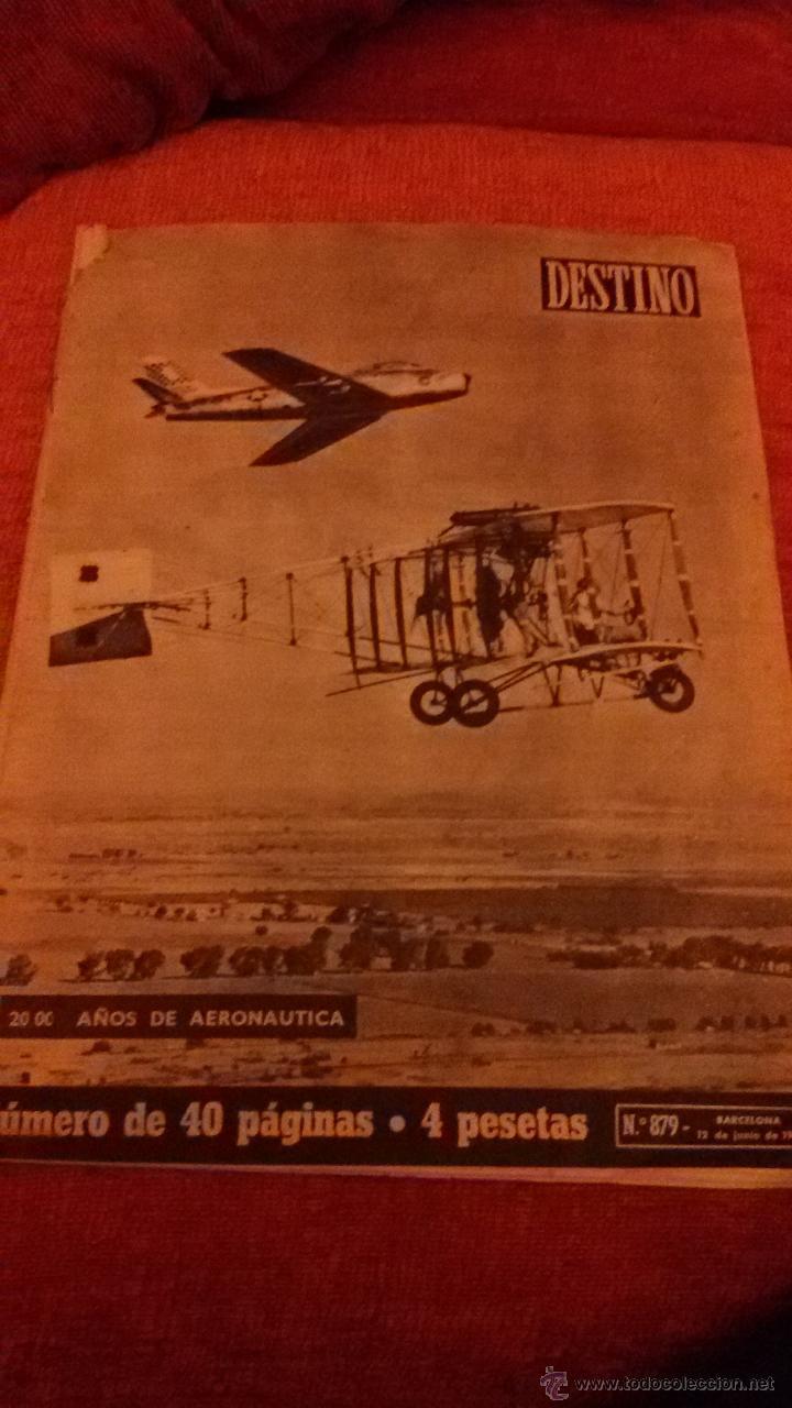 PERIODICO DESTINO - 12 DE JUNIO 1954 - BARCELONA - (Coleccionismo - Revistas y Periódicos Modernos (a partir de 1.940) - Revista Destino)
