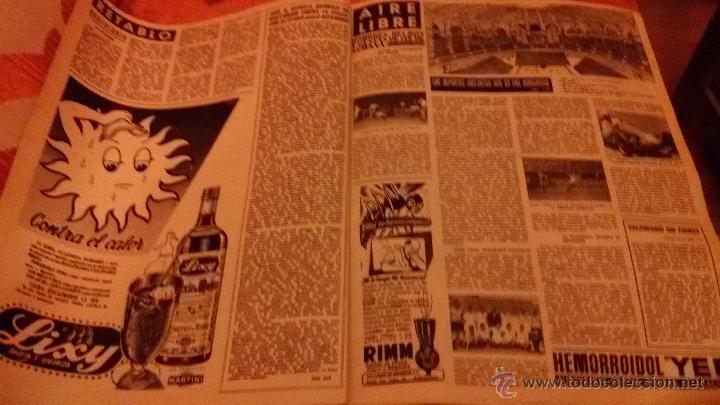 Coleccionismo de Revista Destino: PERIODICO DESTINO - 12 DE JUNIO 1954 - BARCELONA - - Foto 2 - 47375094