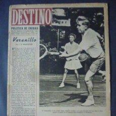 Coleccionismo de Revista Destino: REVISTA DESTINO Nº 330-NOVIEMBRE 1943-LA LECCION DE GIRAU Y DE GALUE-LA ROYAL NAVY. Lote 49409836