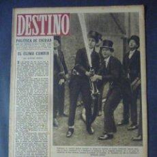Coleccionismo de Revista Destino: REVISTA DESTINO Nº 343-12 DE FEBRERO 1944-LA CALLE AUSIAS MARCH-LA ESPAÑA DE CAMOENS POR AUG. CASAS. Lote 49422839