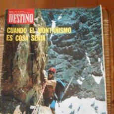 Coleccionismo de Revista Destino: DESTINO Nº 1781 -BARCELONA 20 DE NOVIEMBRE DE 1971. Lote 50275835