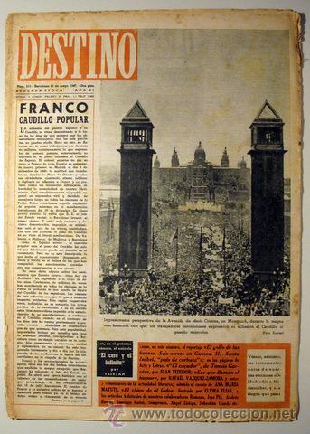 DESTINO. NÚM. 515. 31 DE MAYO DE 1947 ((REVISTA)) (Coleccionismo - Revistas y Periódicos Modernos (a partir de 1.940) - Revista Destino)