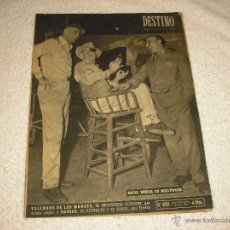 Coleccionismo de Revista Destino: DESTINO 1031 . ANGEL ZUNIGA EN HOLLYWOOD. Lote 51181883