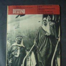 Collectionnisme de Magazine Destino: REVISTA DESTINO Nº 1127-14 DE MARZO 1959-LA ARABIA SAUDITA-IBN SAUD, REY DE ARABIA. Lote 51557265