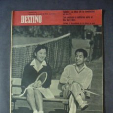 Collectionnisme de Magazine Destino: REVISTA DESTINO Nº 1132-18 DE ABRIL 1959-LOS DESCENDIENTES DE LOS DIOSES SE CASAN-SABER COMER. Lote 51557819