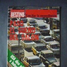 Collectionnisme de Magazine Destino: REVISTA DESTINO Nº 1960-24 DE ABRIL 1975-¿QUE LENGUA HABLAN LOS VALENCIANOS?-LA NOCHE DIONISICA. Lote 51688826