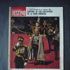 Coleccionismo de Revista Destino: REVISTA DESTINO Nº 1946-18 DE ENERO 1975-EL SHA Y SU DELIRIO DE GRANDEZA-LOS JEQUES DE LA LUZ. Lote 51688353
