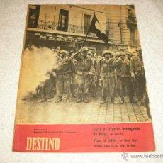 Coleccionismo de Revista Destino: DESTINO N. 1173 . ENERO 1960. Lote 51718233