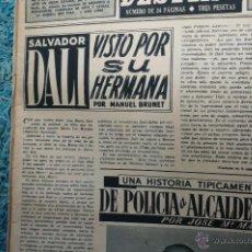 Coleccionismo de Revista Destino: DALI -REPORTAGE EN REVISTA DESTINO 1949. Lote 52554383