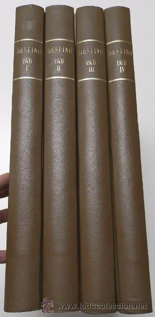 REVISTA DESTINO. AÑO 1970 COMPLETO. (Coleccionismo - Revistas y Periódicos Modernos (a partir de 1.940) - Revista Destino)