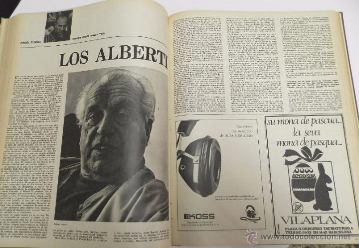 Coleccionismo de Revista Destino: REVISTA DESTINO. AÑO 1970 COMPLETO. - Foto 3 - 53319449