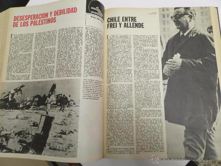 Coleccionismo de Revista Destino: REVISTA DESTINO. AÑO 1970 COMPLETO. - Foto 8 - 53319449
