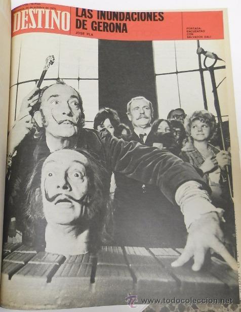 Coleccionismo de Revista Destino: REVISTA DESTINO. AÑO 1970 COMPLETO. - Foto 9 - 53319449