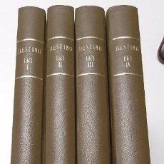 Coleccionismo de Revista Destino: REVISTA DESTINO. AÑO 1971 COMPLETO. Lote 53330006