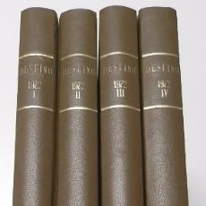 Coleccionismo de Revista Destino: REVISTA DESTINO. AÑO 1972 COMPLETO. Lote 53330399