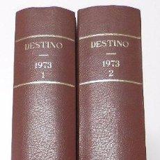 Coleccionismo de Revista Destino: REVISTA DESTINO. AÑO 1973 COMPLETO. Lote 53331047