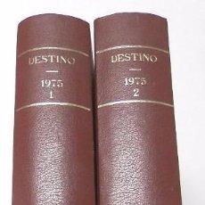 Coleccionismo de Revista Destino: REVISTA DESTINO. AÑO 1975 COMPLETO. Lote 53333153