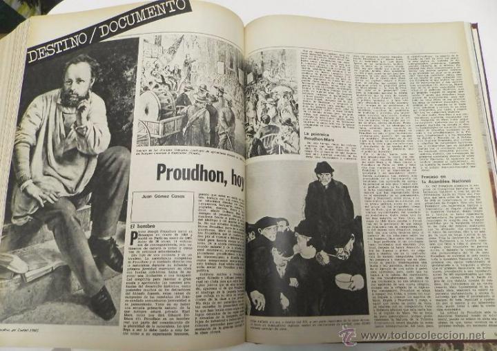 Coleccionismo de Revista Destino: REVISTA DESTINO. AÑO 1975 COMPLETO - Foto 6 - 53333153