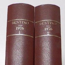 Coleccionismo de Revista Destino: REVISTA DESTINO. AÑO 1976 COMPLETO. Lote 53333513