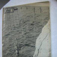 Coleccionismo de Revista Destino: REVISTA DESTINO Nº 1039 BARCELONA 6 JULIO 1957. Lote 54294938