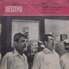 Coleccionismo de Revista Destino: REVISTA DESTINO - CARAMELLAS EN ARTESA DE SEGRE, TENERIFE PRIMAVERA SOBRE UN VOLCAN.... Lote 56984935