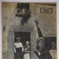 Coleccionismo de Revista Destino: REVISTA DESTINO - CASTELLTERSOL ESTRENA GIGANTES, VIAJE A CUBA DE JOSE PLA, EL LEGADO MUNDET.... Lote 81871935