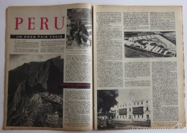 Coleccionismo de Revista Destino: DOS REVISTAS DESTINO - KENNEDY PRESIDENTE DE ESTADOS UNIDOS - Foto 5 - 56992692