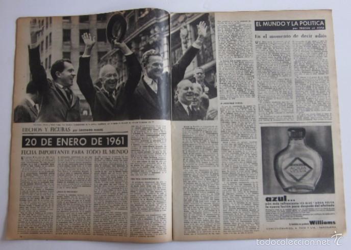 Coleccionismo de Revista Destino: DOS REVISTAS DESTINO - KENNEDY PRESIDENTE DE ESTADOS UNIDOS - Foto 8 - 56992692