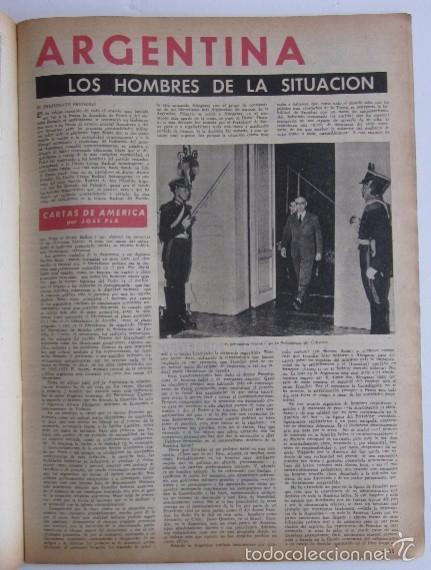 Coleccionismo de Revista Destino: DOS REVISTAS DESTINO - KENNEDY PRESIDENTE DE ESTADOS UNIDOS - Foto 10 - 56992692