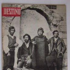 Coleccionismo de Revista Destino: REVISTA DESTINO - LA HISTORIA DE LA MAFIA, LA GUERRA DE NIXON.... Lote 56993204