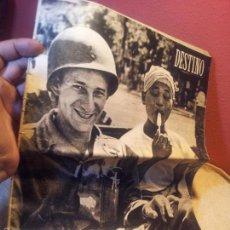 Coleccionismo de Revista Destino: REVISTA DESTINO AÑO.1953 N´820 PORTADA HACIA UN ARMISTICIO. Lote 57349849